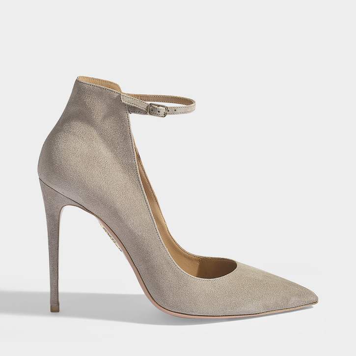 Suit_Aquazzura Pumps