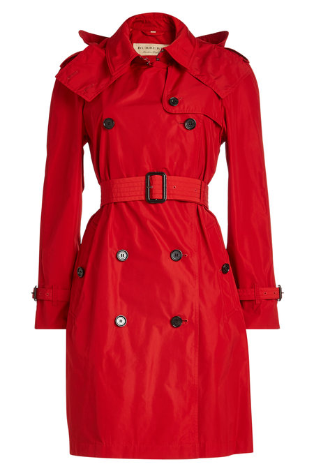 Burberry Red Trenchcoat