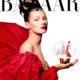 Festtage Christmas Special Harper's Bazaar Cover with Kate Moss
